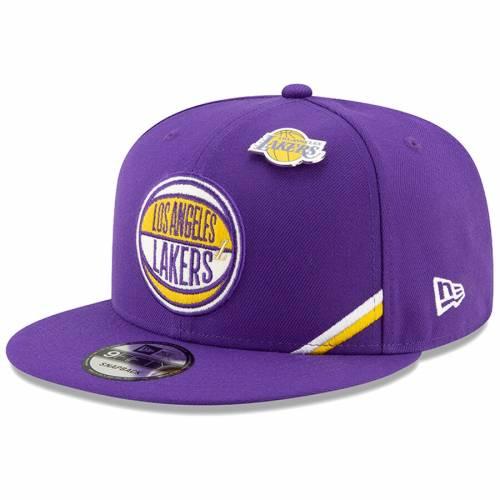 ニューエラ NEW ERA レイカーズ スナップバック バッグ 紫 パープル キャップ 帽子 メンズキャップ メンズ 【 Los Angeles Lakers 2019 Nba Draft 9fifty Snapback Adjustable Hat - Purple 】 Purple