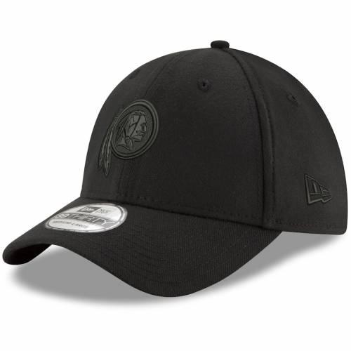 ニューエラ NEW ERA ワシントン レッドスキンズ ロゴ 黒 ブラック バッグ キャップ 帽子 メンズキャップ メンズ 【 Washington Redskins Logo 39thirty Flex Hat - Black 】 Black
