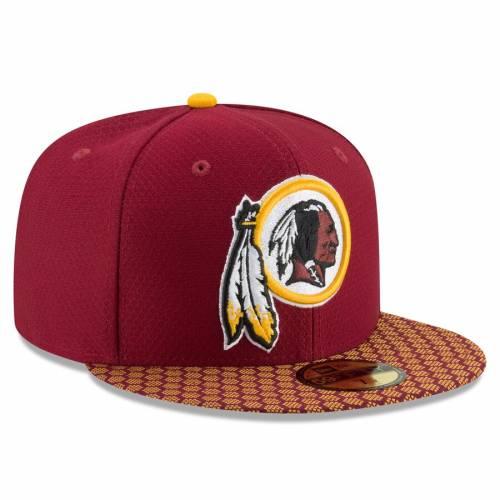 ニューエラ NEW ERA ワシントン レッドスキンズ サイドライン ワイン色 バーガンディーNEW ERA WASHINGTON REDSKINS 2017 SIDELINE OFFICIAL 59FIFTY FITTED HAT BURGUNDYバッグキャップ 帽子 メンズキdhrtsQ