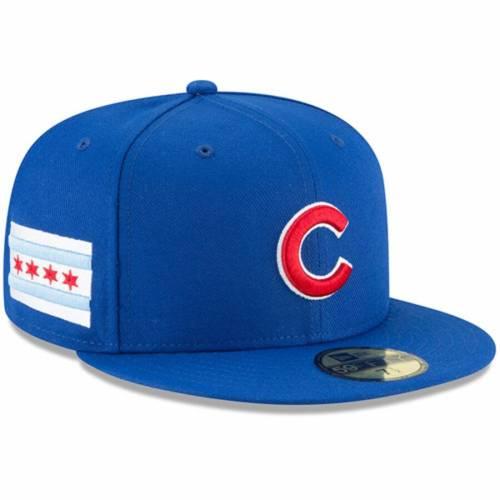 ニューエラ NEW ERA シカゴ カブス チーム バッグ キャップ 帽子 メンズキャップ メンズ 【 Chicago Cubs Team Local 59fifty Fitted Hat - Royal 】 Royal