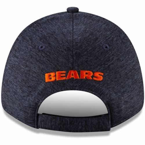 ニューエラ NEW ERA シカゴ ベアーズ 紺 ネイビー バッグ キャップ 帽子 メンズキャップ メンズ 【 Chicago Bears Visor Trim 9forty Adjustable Hat - Heathered Navy 】 Heathered Navy