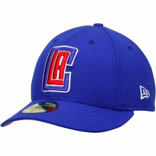 ニューエラ NEW ERA クリッパーズ バッグ キャップ 帽子 メンズキャップ メンズ 【 La Clippers Low Profile 59fifty Fitted Hat - Royal 】 Royal