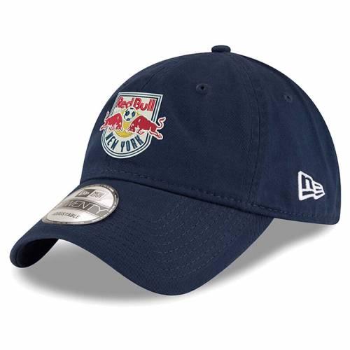 ニューエラ NEW ERA 赤 レッド ブルズ チーム ロゴ 紺 ネイビー バッグ キャップ 帽子 メンズキャップ メンズ 【 New York Red Bulls Team Logo 9twenty Adjustable Hat - Navy 】 Navy