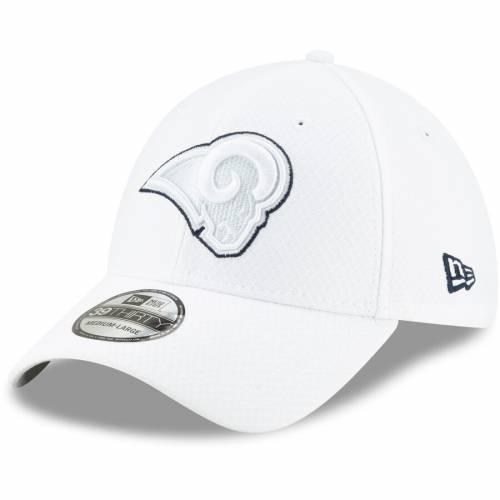 ニューエラ NEW ERA ラムズ サイドライン プラチナム 白 ホワイト バッグ キャップ 帽子 メンズキャップ メンズ 【 Los Angeles Rams 2019 Nfl Sideline Platinum 39thirty Flex Hat - White 】 White