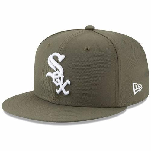 ニューエラ NEW ERA シカゴ 白 ホワイト 緑 グリーン バッグ キャップ 帽子 メンズキャップ メンズ 【 Chicago White Sox Fashion Color Basic 59fifty Fitted Hat - Green 】 Green