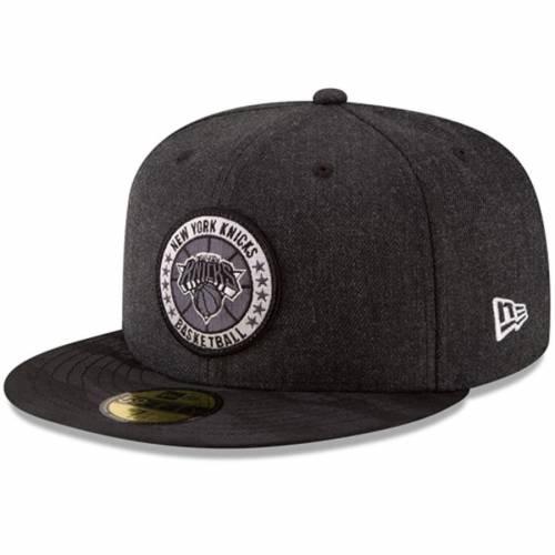 ニューエラ NEW ERA ニックス シリーズ 黒 ブラック バッグ キャップ 帽子 メンズキャップ メンズ 【 New York Knicks 2018 Tip-off Series 59fifty Fitted Hat - Black 】 Black