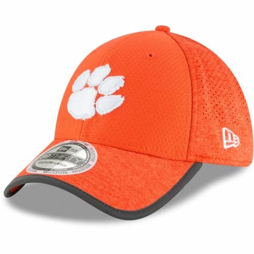 ニューエラ NEW ERA タイガース トレーニング 橙 オレンジ バッグ キャップ 帽子 メンズキャップ メンズ 【 Clemson Tigers Training 39thirty Flex Hat - Orange 】 Orange