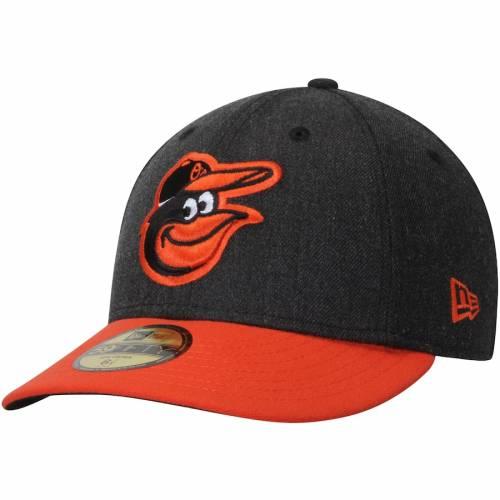 ニューエラ NEW ERA ボルティモア オリオールズ バッグ キャップ 帽子 メンズキャップ メンズ 【 Baltimore Orioles Change Up Low Profile 59fifty Fitted Hat - Black/orange 】 Black/orange