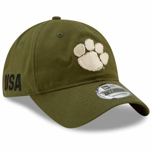 ニューエラ NEW ERA タイガース オリーブ バッグ キャップ 帽子 メンズキャップ メンズ 【 Clemson Tigers Platoon 9twenty Adjustable Hat - Olive 】 Olive