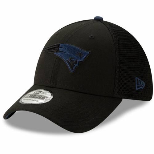 ニューエラ NEW ERA ペイトリオッツ 黒 ブラック バッグ キャップ 帽子 メンズキャップ メンズ 【 New England Patriots 2t Sided 39thirty Flex Hat - Black 】 Black