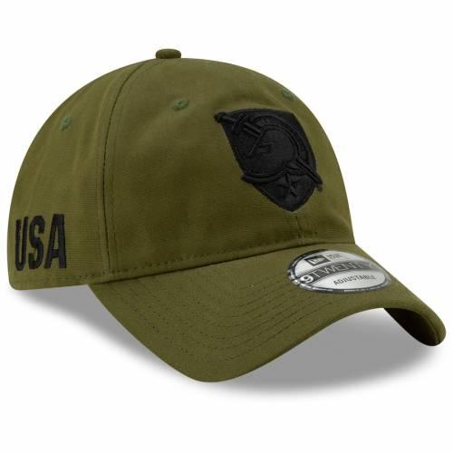 ニューエラ NEW ERA 黒 ブラック オリーブ 【 BLACK OLIVE NEW ERA ARMY KNIGHTS PLATOON 9TWENTY ADJUSTABLE HAT 】 バッグ  キャップ 帽子 メンズキャップ 帽子