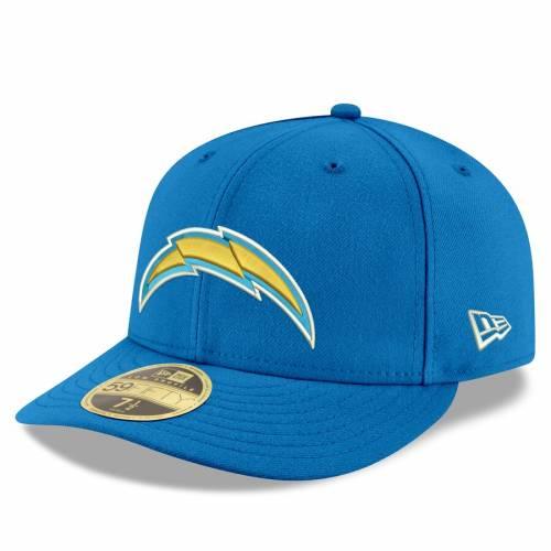 ニューエラ NEW ERA チャージャーズ 紺 ネイビー バッグ キャップ 帽子 メンズキャップ メンズ 【 Los Angeles Chargers Omaha Low Profile 59fifty Fitted Hat - Navy 】 Blue