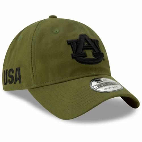 ニューエラ NEW ERA タイガース オリーブ 【 OLIVE NEW ERA AUBURN TIGERS PLATOON 9TWENTY ADJUSTABLE HAT 】 バッグ  キャップ 帽子 メンズキャップ 帽子