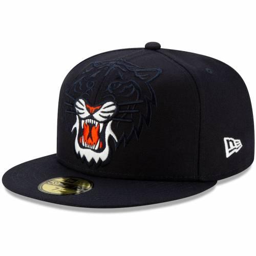 ニューエラ NEW ERA デトロイト タイガース ロゴ 紺 ネイビー 【 NAVY NEW ERA DETROIT TIGERS LOGO ELEMENTS 59FIFTY FITTED HAT 】 バッグ  キャップ 帽子 メンズキャップ 帽子