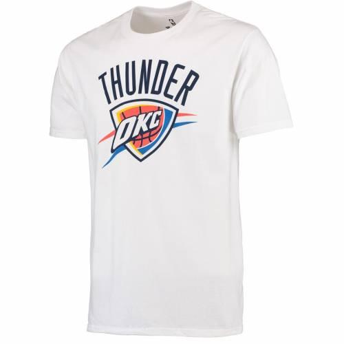 FANATICS BRANDED シティ サンダー ロゴ Tシャツ 白 ホワイト メンズファッション トップス カットソー メンズ 【 Oklahoma City Thunder Primary Logo T-shirt - White 】 White