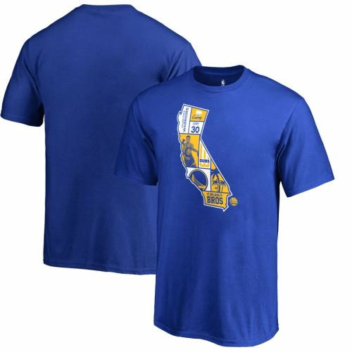FANATICS BRANDED ステファン カリー スケートボード ウォリアーズ 子供用 Tシャツ キッズ ベビー マタニティ トップス ジュニア 【 Stephen Curry Golden State Warriors Youth Player State T-shirt - Royal 】 Ro