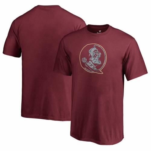 FANATICS BRANDED フロリダ スケートボード 子供用 ロゴ Tシャツ キッズ ベビー マタニティ トップス ジュニア 【 Florida State Seminoles Youth Static Logo T-shirt - Garnet 】 Garnet