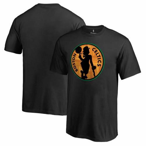 FANATICS BRANDED ボストン セルティックス 子供用 Tシャツ 黒 ブラック キッズ ベビー マタニティ トップス ジュニア 【 Boston Celtics Youth Hardwood T-shirt - Black 】 Black