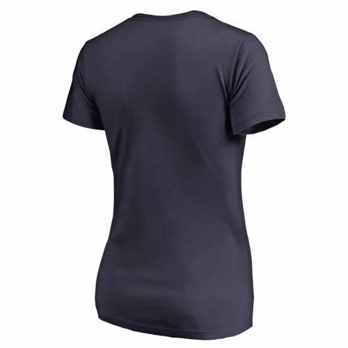 FANATICS BRANDED アリゾナ レディース スケートボード ブイネック Tシャツ 紺 ネイビー WOMEN'SVqUzSGMp