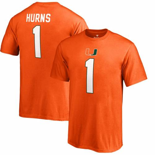FANATICS BRANDED マイアミ 子供用 カレッジ Tシャツ 橙 オレンジ キッズ ベビー マタニティ トップス ジュニア 【 Allen Hurns Miami Hurricanes Youth College Legends T-shirt - Orange 】 Orange