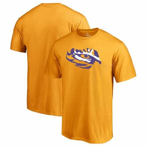 FANATICS BRANDED タイガース ロゴ Tシャツ 【 LSU TIGERS PRIMARY LOGO TSHIRT YELLOW 】 メンズファッション トップス カットソー 送料無料