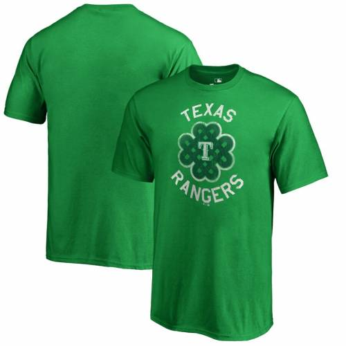 FANATICS BRANDED テキサス レンジャーズ 子供用 Tシャツ 緑 グリーン St. キッズ ベビー マタニティ トップス ジュニア 【 Texas Rangers Youth St. Patricks Day Luck Tradition T-shirt - Kelly Green 】 Kelly Green