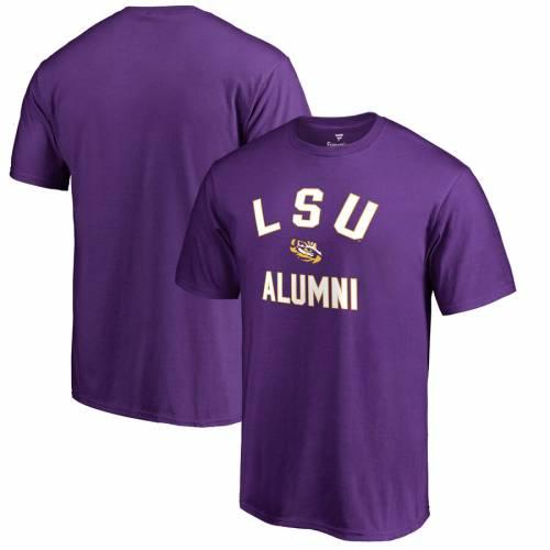 FANATICS BRANDED タイガース チーム Tシャツ 紫 パープル メンズファッション トップス カットソー メンズ 【 Lsu Tigers Team Alumni T-shirt - Purple 】 Purple