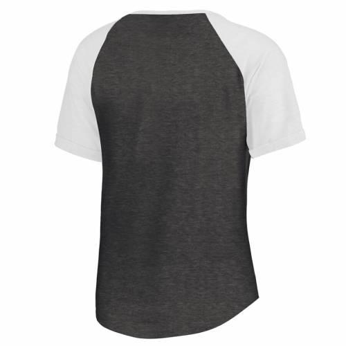 FANATICS BRANDED インパクト レディース スクリプト ラグラン Tシャツ WOMEN'S 【 RAGLAN MONTREAL IMPACT RISING SCRIPT TRIBLEND TSHIRT BLACK 】 レディースファッション トップス カットソー 送料無料