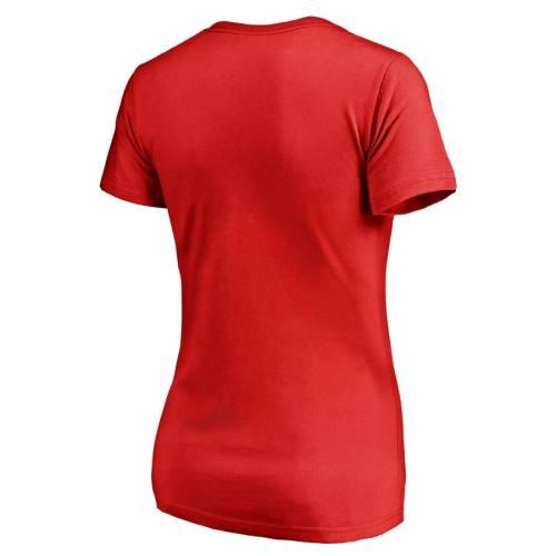 FANATICS BRANDED シンシナティ レッズ レディース Tシャツ WOMEN'S 【 CINCINNATI REDS FIREFIGHTER TSHIRT RED 】 レディースファッション トップス カットソー 送料無料