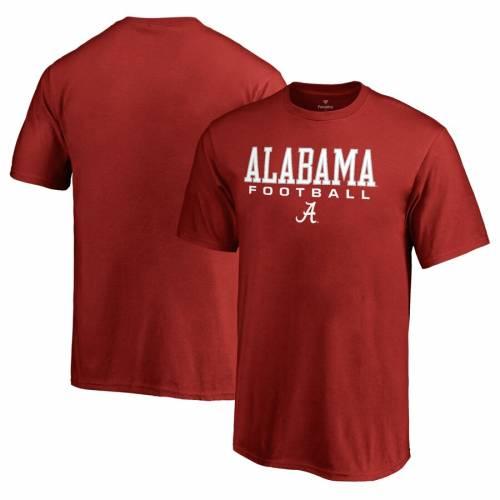 FANATICS BRANDED アラバマ 子供用 Tシャツ キッズ ベビー マタニティ トップス ジュニア 【 Alabama Crimson Tide Youth True Sport Football T-shirt - Crimson 】 Crimson