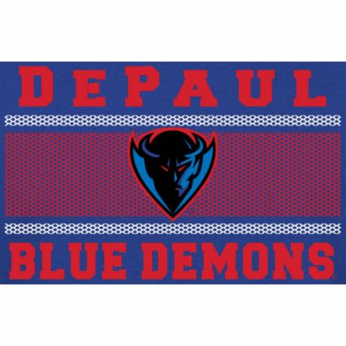 割引クーポン ファナティクス FANATICS BRANDED 青色 ブルー ミクロ Tシャツ 【大きめ】 【 MICRO FANATICS BRANDED DEPAUL BLUE DEMONS MESH TSHIRT 】 メンズファッション トップス Tシャツ カットソー, eco家具 e84d8ed4