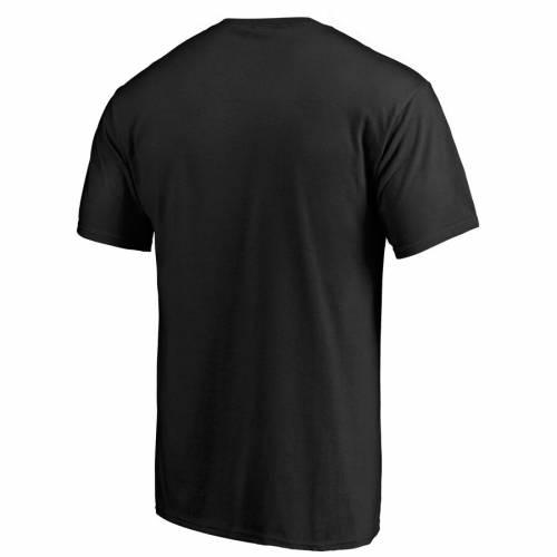 FANATICS BRANDED ロゴ Tシャツ 黒 ブラック メンズファッション トップス カットソー メンズ 【 Unlv Rebels Primary Logo T-shirt - Black 】 Black