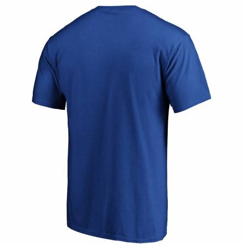 FANATICS BRANDED デトロイト ピストンズ チーム ロゴ Tシャツ 青 ブルー 【 TEAM BLUE FANATICS BRANDED DETROIT PISTONS PRIMARY LOGO TSHIRT 】 メンズファッション トップス Tシャツ カットソー