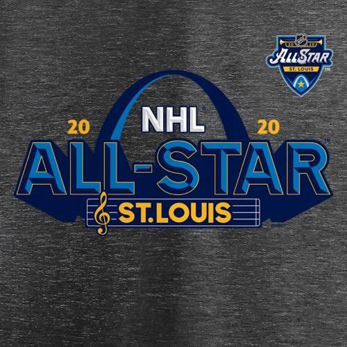 FANATICS BRANDED ゲーム Tシャツ ヘザー ST. 【 GAME HEATHER 2020 NHL ALLSTAR LOUIS TSHIRT GRAY 】 メンズファッション トップス カットソー 送料無料