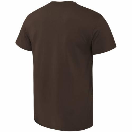FANATICS BRANDED ミシガン ブロンコス Tシャツ 茶 ブラウン メンズファッション トップス カットソー メンズ 【 Western Michigan Broncos Basic Arch Expansion T-shirt - Brown 】 Brown