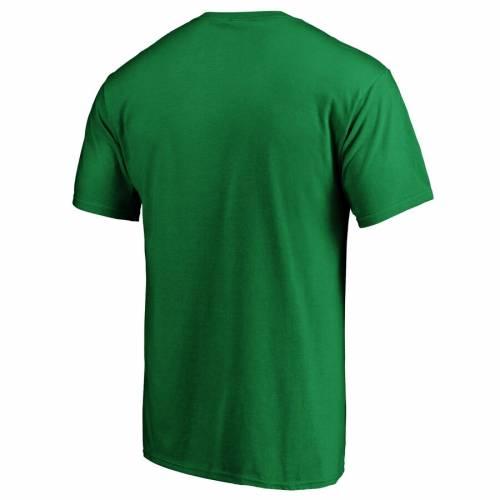 FANATICS BRANDED ヤンキース ロゴ Tシャツ 緑 グリーン ST. PATRICK'S 【 GREEN FANATICS BRANDED NEW YORK YANKEES DAY LOGO TSHIRT KELLY 】 メンズファッション トップス Tシャツ カットソー
