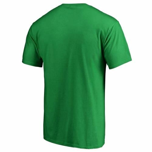 FANATICS BRANDED ジャージ 白 ホワイト ロゴ Tシャツ ST. PATRICK'S 【 WHITE NEW JERSEY DEVILS DAY LOGO TSHIRT GREEN 】 メンズファッション トップス カットソー 送料無料