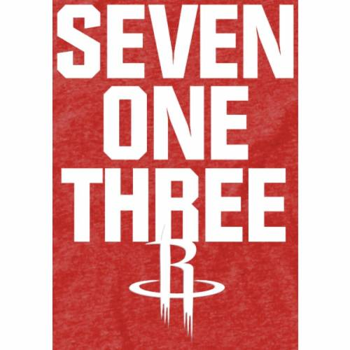 FANATICS BRANDED ヒューストン ロケッツ Tシャツ 赤 レッド メンズファッション トップス カットソー メンズ 【 Houston Rockets Area Code T-shirt - Red 】 Red