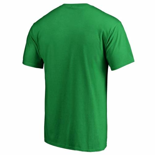 FANATICS BRANDED 白 ホワイト ロゴ Tシャツ 緑 グリーン ST. PATRICK'S 【 WHITE GREEN FANATICS BRANDED CALGARY FLAMES DAY LOGO TSHIRT 】 メンズファッション トップス Tシャツ カットソー