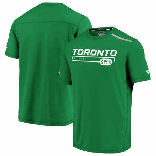 FANATICS BRANDED トロント オーセンティック プロ Tシャツ 緑 グリーン St. メンズファッション トップス カットソー メンズ 【 Toronto St. Pats Authentic Pro Clutch T-shirt - Kelly Green 】 Kelly Green