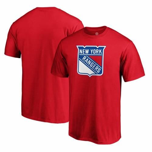 スポーツブランド カジュアル ファッション ファナティクス FANATICS BRANDED レンジャース チーム ロゴ Tシャツ 赤 PRIMARY ニューヨーク LOGO TEAM いつでも送料無料 2020春夏新作 TSHIRT RED メンズファッション カットソー トップス レッド
