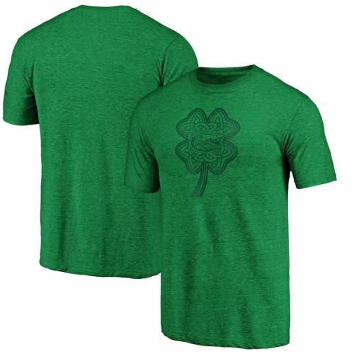 FANATICS BRANDED フロリダ Tシャツ 緑 グリーン ST. PATRICK'S 【 GREEN FANATICS BRANDED FLORIDA GATORS DAY CELTIC CHARM TRIBLEND TSHIRT 】 メンズファッション トップス Tシャツ カットソー
