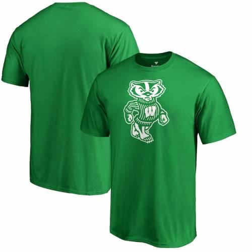 素晴らしい価格 ファナティクス FANATICS BRANDED ウィスコンシン バッジャーズ 白色 ホワイト ロゴ Tシャツ 緑 グリーン ST. PATRICK&39;S 【 GREEN FANATICS BRANDED DAY WHITE LOGO TSHIRT 】 メンズファッション トップス Tシ, リトルティース abed0a3d