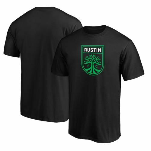 スポーツブランド カジュアル ファッション ファナティクス FANATICS BRANDED オースティン チーム 祝開店大放出セール開催中 日本全国 送料無料 ロゴ Tシャツ メンズファッション PRIMARY ブラック BLACK TSHIRT TEAM カットソー LOGO トップス 黒色