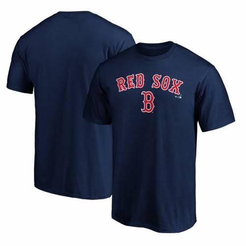 スポーツブランド カジュアル ファッション ファナティクス FANATICS BRANDED ボストン 赤 レッド チーム ロゴ Tシャツ 紺色 レッドソックス LOCKUP 10%OFF RED TEAM ネイビー LOGO トラスト NAVY カ メンズファッション TSHIRT トップス