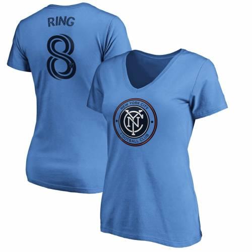 【お買い得!】 ファナティクス FANATICS BRANDED シティ レディース オーセンティック Vネック Tシャツ スカイ 青色 ブルー ニューヨーク WOMEN&39;S & 【 FANATICS BRANDED ALEXANDER RING AUTHENTIC STACK PLAYER NAME NUMBER VNECK, artract 4c1b911f