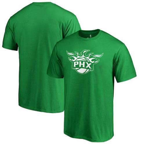 スポーツブランド カジュアル ファッション ファナティクス FANATICS BRANDED 値引き フェニックス サンズ 白色 ホワイト ロゴ Tシャツ 緑 ST. 当店は最高な サービスを提供します トップス メンズファッション LOGO PATRICK'S DAY WHITE カッ TSHIRT グリーン GREEN