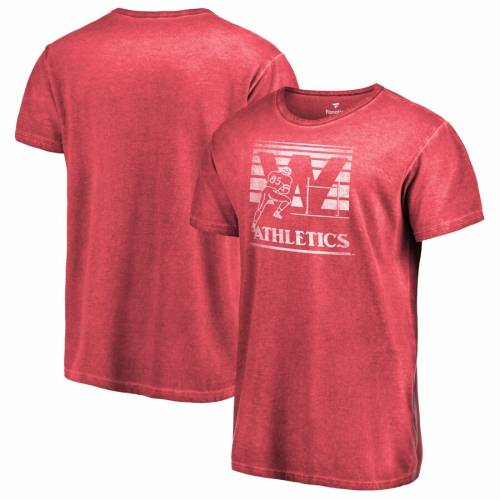 FANATICS BRANDED ケンタッキー カレッジ ロゴ シャドー シャドウ Tシャツ 赤 レッド メンズファッション トップス カットソー メンズ 【 Western Kentucky Hilltoppers College Vault Primary Logo Shadow Washed