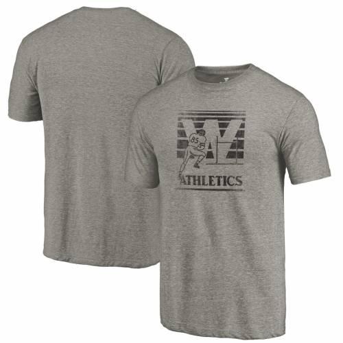FANATICS BRANDED ケンタッキー カレッジ ロゴ Tシャツ 灰色 グレー グレイ メンズファッション トップス カットソー メンズ 【 Western Kentucky Hilltoppers Branded College Vault Primary Logo Tri-blend T-shirt -