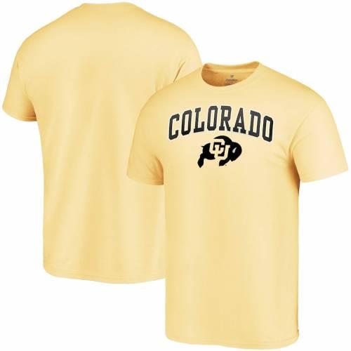 FANATICS BRANDED コロラド キャンパス Tシャツ メンズファッション トップス カットソー メンズ 【 Colorado Buffaloes Campus T-shirt - Gold 】 Gold